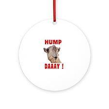 Hump Day Ornament (Round)