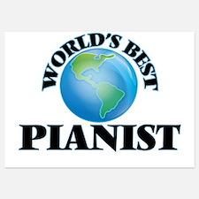 World's Best Pianist Invitations