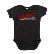 Cute Down syndrome Baby Bodysuit