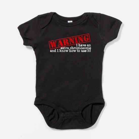 Cute Trisomy Baby Bodysuit