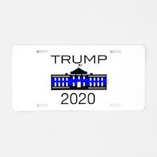 Zombie Kill 3 Aluminum License Plate