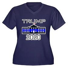 Zombie Kill Women's Plus Size V-Neck Dark T-Shirt