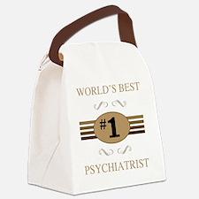 World's Best Psychiatrist Canvas Lunch Bag