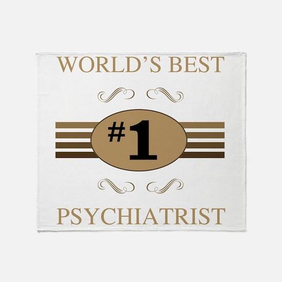 World's Best Psychiatrist Throw Blanket