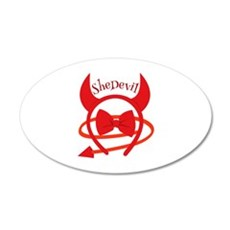She Devil Wall Decal