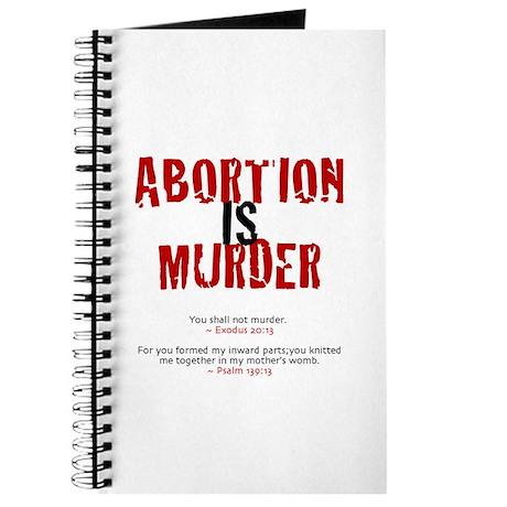 Abortion is murdering essays