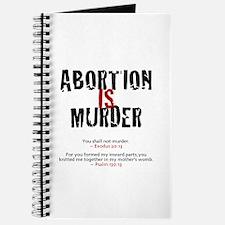 Abortion IS Murder 2.0 - Journal