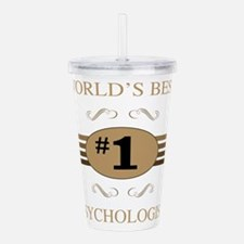 World's Best Psycholog Acrylic Double-wall Tumbler