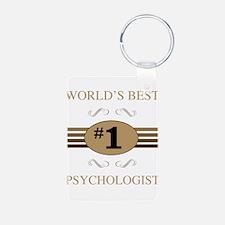 World's Best Psychologist Keychains