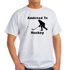Addicted To Hockey T-Shirt