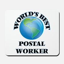 World's Best Postal Worker Mousepad