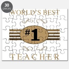 World's Best Teacher Puzzle