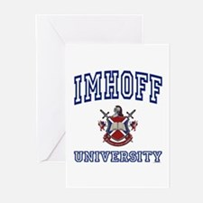 IMHOFF University Greeting Cards (Pk of 10)