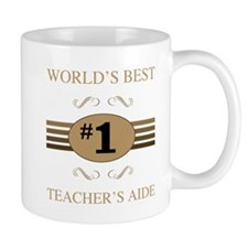 World's Best Teacher's Aide Mugs