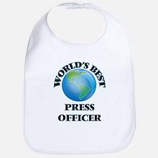 World's Best Press Officer Bib