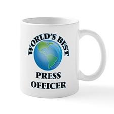 World's Best Press Officer Mugs