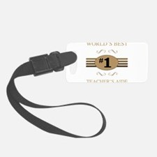 World's Best Teacher's Aide Luggage Tag