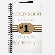 World's Best Teacher's Aide Journal