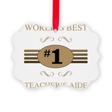 World's Best Teacher's Aide Ornament