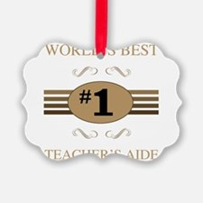 World's Best Teacher's Aide Ornament