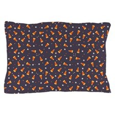 Candy corn and stars Pillow Case