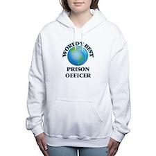 World's Best Prison Offi Women's Hooded Sweatshirt