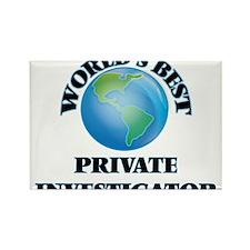 World's Best Private Investigator Magnets