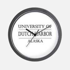University of Dutch Harbor Wall Clock
