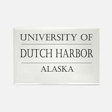 University of Dutch Harbor Rectangle Magnet