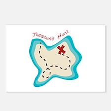 Treasure Hunt Postcards (Package of 8)