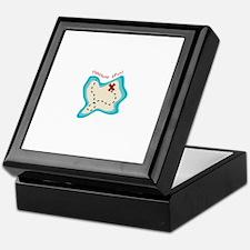 Treasure Hunt Keepsake Box