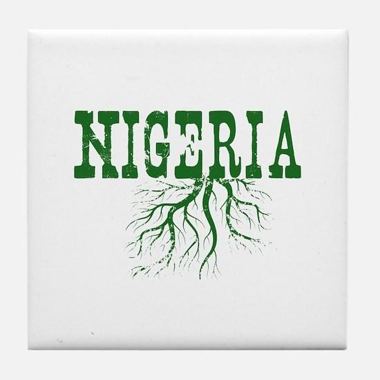 Nigeria Roots Tile Coaster