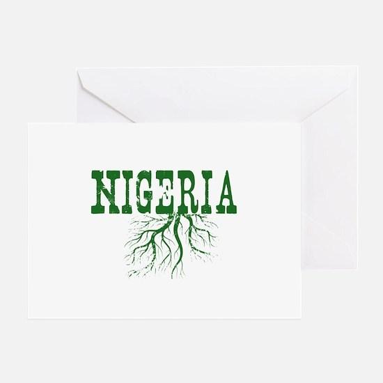 Nigeria Roots Greeting Card