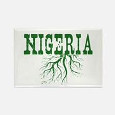 Nigeria Roots Rectangle Magnet (10 pack)