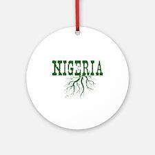 Nigeria Roots Ornament (Round)