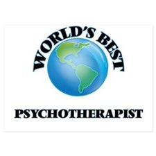 World's Best Psychotherapist Invitations