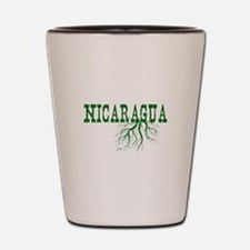 Nicaragua Roots Shot Glass
