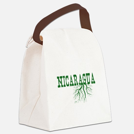Nicaragua Roots Canvas Lunch Bag