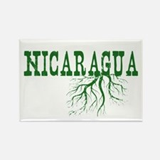Nicaragua Roots Rectangle Magnet