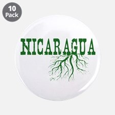 """Nicaragua Roots 3.5"""" Button (10 pack)"""