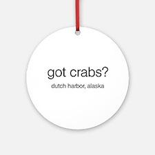 Got Crabs? Ornament (Round)