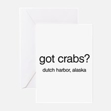 Got Crabs? Greeting Cards (Pk of 10)
