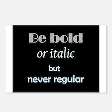 Be Bold or italic but never Regular Fun Inspirati