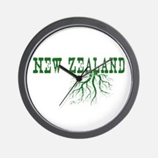 New Zealand Wall Clock