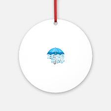 Rain Go Away Ornament (Round)