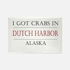 Dutch Harbor Alaska Rectangle Magnet