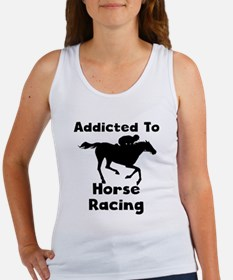 Addicted To Horse Racing Tank Top
