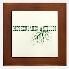 Netherlands Roots Framed Tile