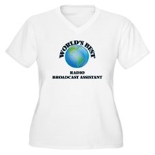World's Best Radio Broadcast Ass Plus Size T-Shirt