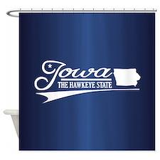Iowa State of Mine Shower Curtain